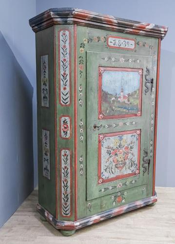 1839 Painted Cupboard (1 of 11)