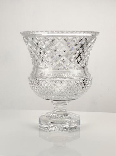 Impressive Large Cut Glass Vase (1 of 7)