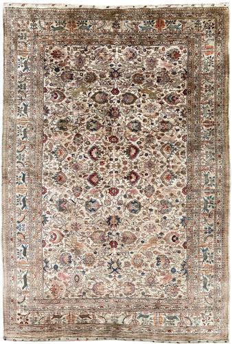Vintage Anatolian Kayseri Silk Rug 2.22m x 1.51m (1 of 17)