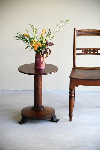 Antique Mahogany Side Table (1 of 11)