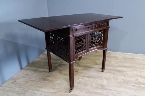 Chippendale Style Pembroke Table (1 of 9)