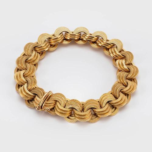 Vintage 18 Carat Gold Bracelet c.1960 (1 of 6)