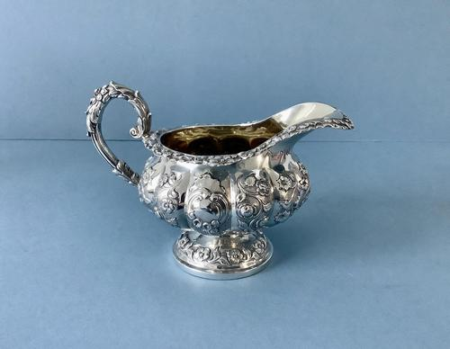 Antique William IV Silver Jug (1 of 6)