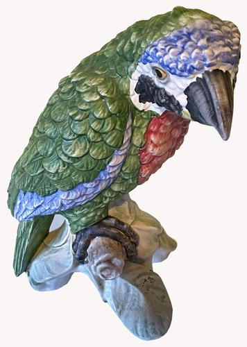 A Porcelain Parrot by Goebel of Germany (1 of 3)