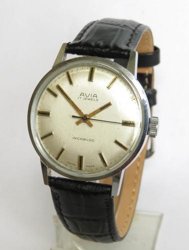 Gents 1970s Avia Wristwatch (1 of 5)