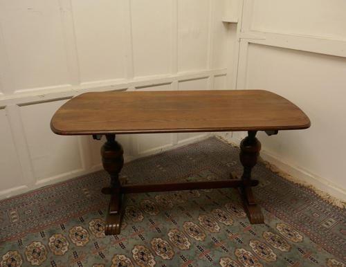 Good Quality Oak Refectory Dining Table (1 of 8)