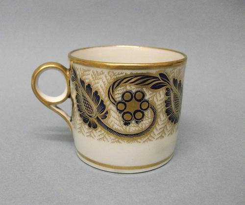 New Hall Coffee Can, c.1805 (1 of 5)