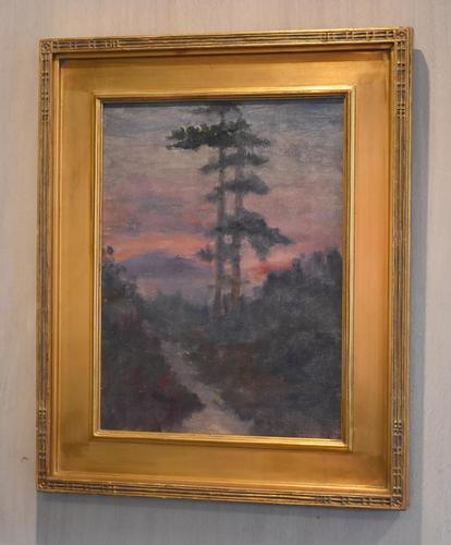 American Oil Painting Raquette Lake, New York State (1 of 8)
