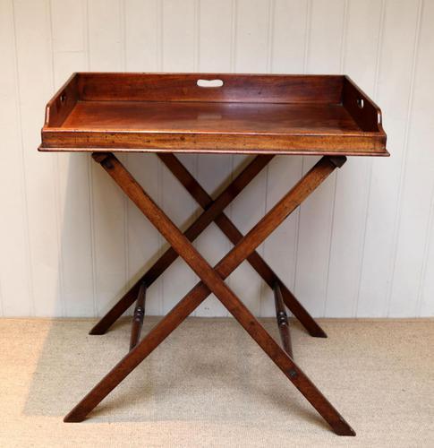 Late 19th Century Mahogany Butlers Tray (1 of 9)