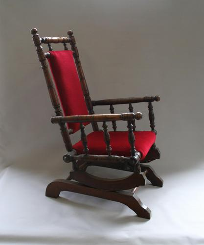 Beech Child's American Style Rocking Chair (1 of 6)