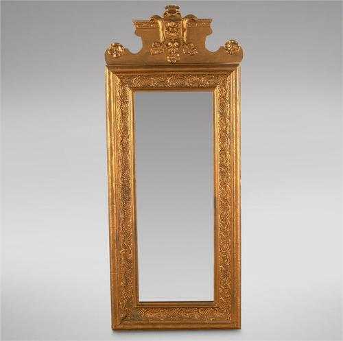 Good Sized Swedish 19th Century Empire Style Mirror (1 of 3)