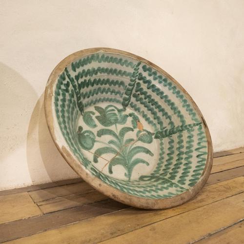 "Large Late 18th Century Spanish Granada Fajalouza ""Lebrillo"" Bowl (1 of 11)"