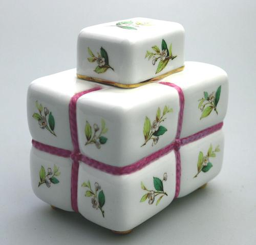 Attributed Christopher Dresser Minton Novelty Tea Caddy 19th Century (1 of 9)