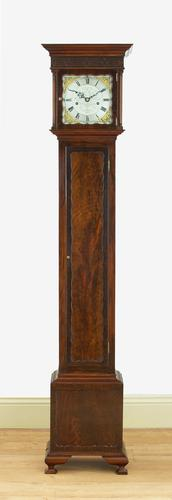 Gillett & Johnston, Westminster Chiming Mahogany Grandmother Clock (1 of 11)