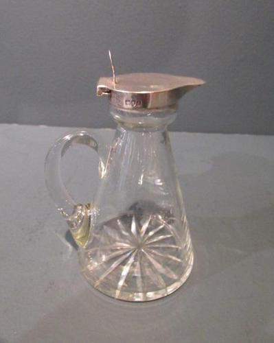 George V Period Silver Whisky Noggin (1 of 8)