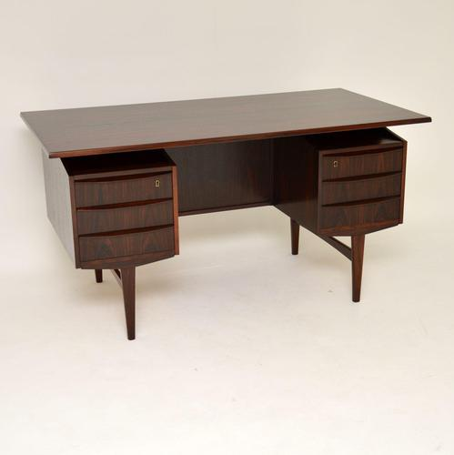 1960's Danish Rosewood Free Standing  Desk (1 of 12)