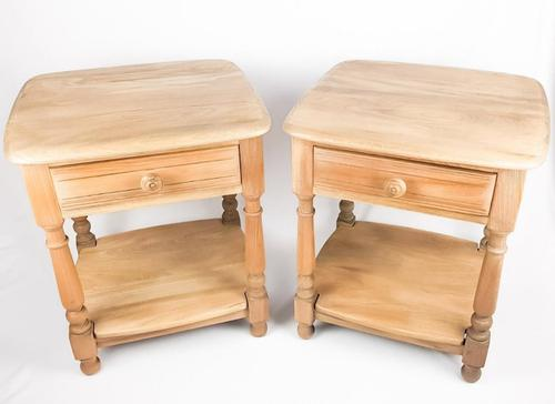 Pair of Vintage Ercol Bedsides (1 of 9)