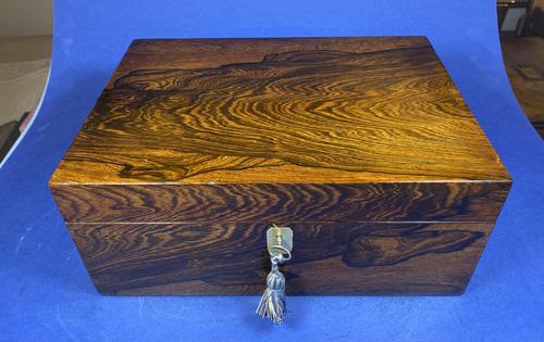 Georgian Brazilian Rosewood Box (1 of 17)