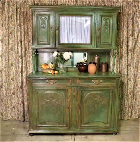 Carved Oak French Buffet (1 of 14)