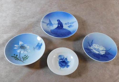Four Royal Copenhagen Minature Dishes (1 of 10)