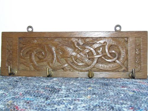 Iona Celtic Inspired Carved Panel (1 of 10)