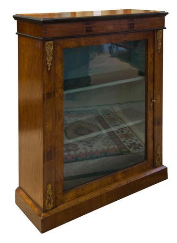 Late 19th Century Walnut Pier Cabinet (1 of 7)