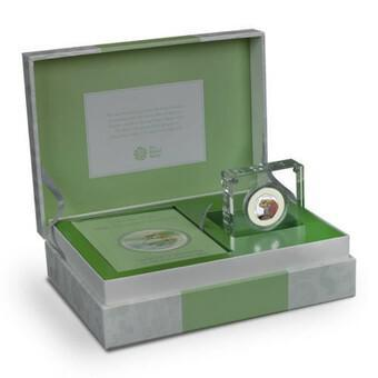 Beatrix Potter Tale of Jeremy Fisher UK 50p Silver Proof Edition Gift set (1 of 1)