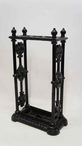 George V Cast Iron Decorative, Umbrella, Stick Stand (1 of 14)