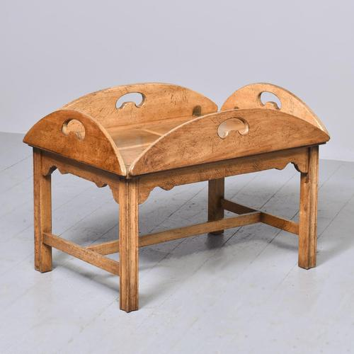 Antique Mahogany Oval Coffee Table (1 of 9)