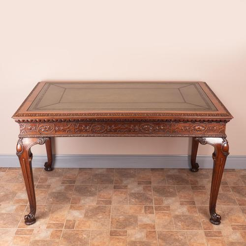 Superb Quality Mahogany Chippendale Design Writing Table (1 of 23)