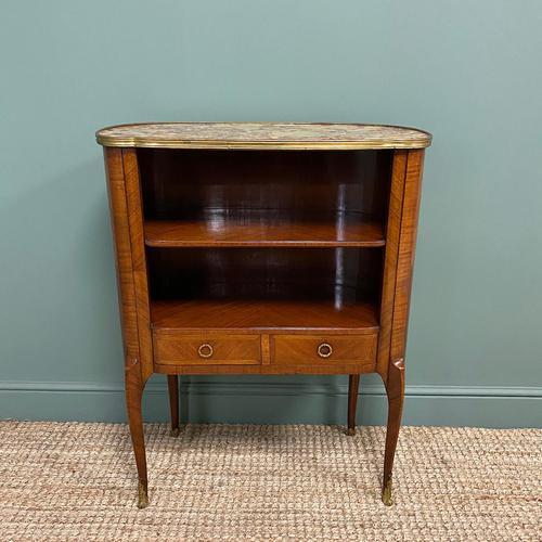 Stunning Kingwood Antique Side Cabinet (1 of 7)
