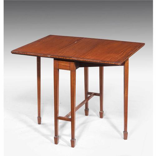 Edwardian Period Satinwood Sutherland Table (1 of 5)