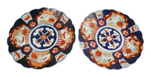 Pair of Imari Plates (1 of 4)