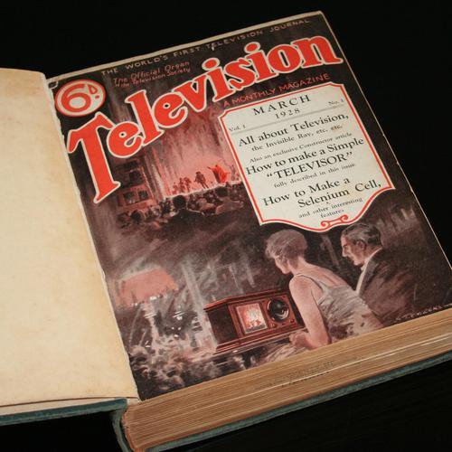 Television Magazine Bound Volumes 1&2 (1 of 6)