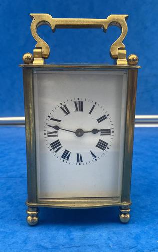 Early Gilt Brass 8 Day Carriage Clock (1 of 13)