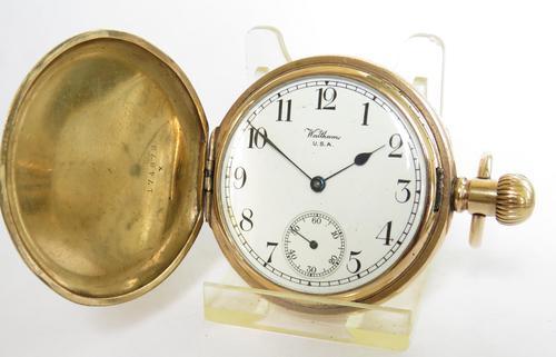 Waltham Full Hunter Pocket Watch, 1925 (1 of 5)