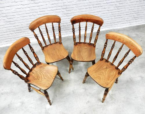 Set of 4 Windsor Kitchen/Dining Chair (1 of 6)