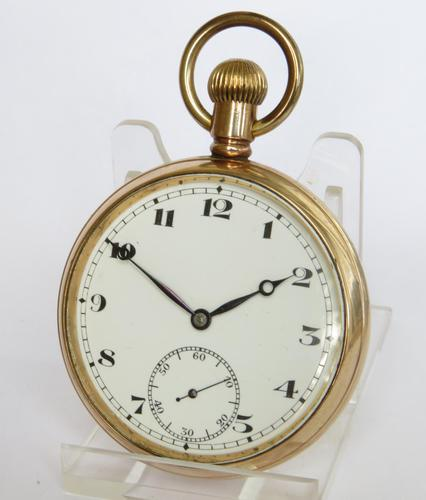 Vintage 1930s Record  Pocket Watch (1 of 4)