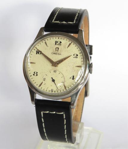 Gents Omega wrist watch, 1950 (1 of 5)