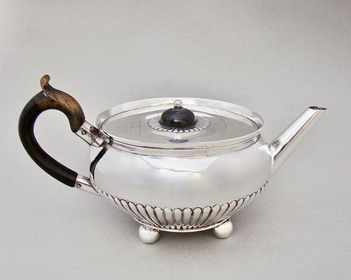Gorgeous Victorian Silver Teapot by Holland & Slater, London 1880 (1 of 8)