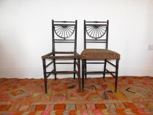 Pair of Chairs in the manner of E.W.Godwin (1 of 11)