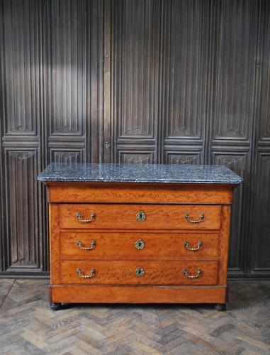 Figured French Commode/ Chest of Drawers (1 of 7)