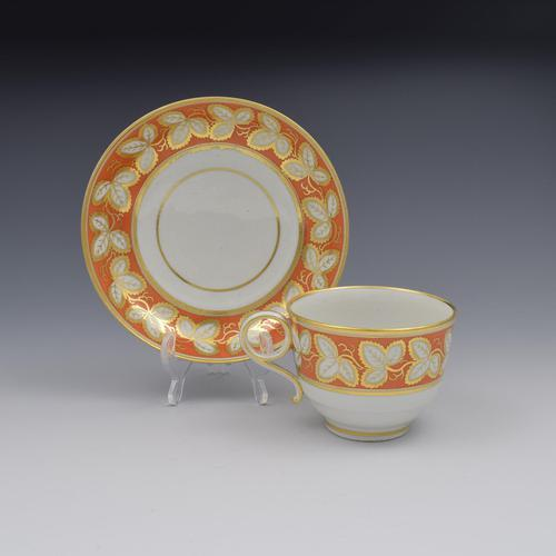 Barr Period Worcester Porcelain Tea Cup & Saucer (1 of 9)
