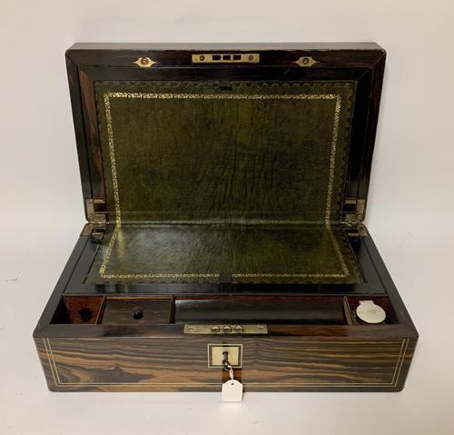 Victorian Coromandel Writing Slope Box (1 of 17)