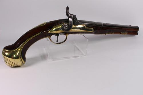 Early 18th Century Holster Pistol by Israel Segalas (1 of 7)