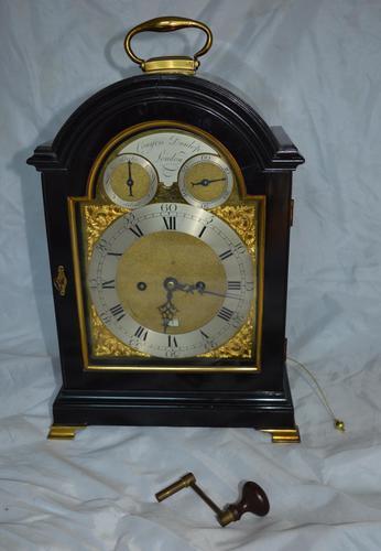 Conyers Dunlop London Georgian Bracket/table Clock (1 of 7)