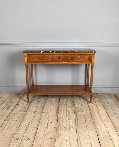 19th Century French Walnut Console Table (1 of 4)