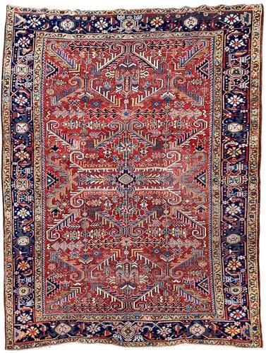 Antique Heriz Carpet (1 of 12)