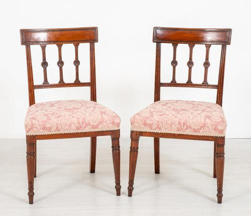 Pretty Pair of Mahogany Regency Side Chairs (1 of 6)