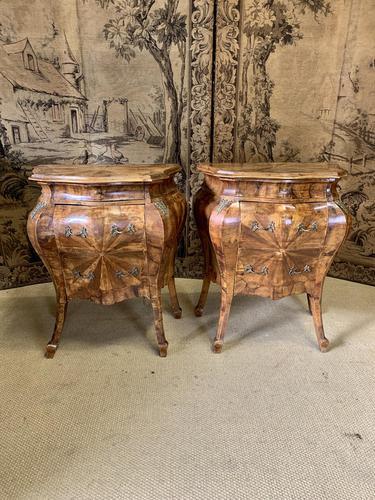 Stunning Pair of 19th Century Italian Inlaid Cupboards (1 of 8)